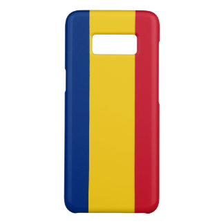 Samsung Galaxy S8 Case with flag of Romania