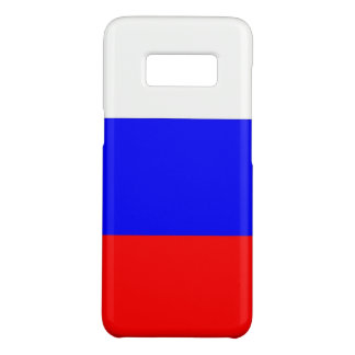 Samsung Galaxy S8 Case with flag of Russia