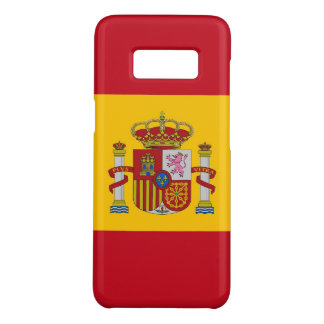 Samsung Galaxy S8 Case with flag of Spain