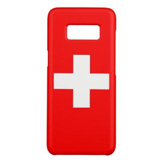 Samsung Galaxy S8 Case with flag of Switzerland