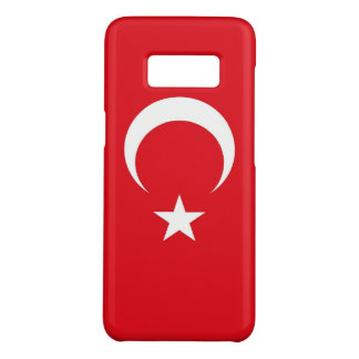 Samsung Galaxy S8 Case with flag of Turkey