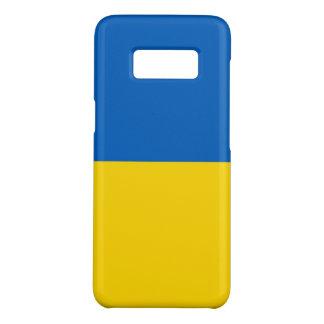 Samsung Galaxy S8 Case with flag of Ukraine