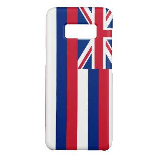 Samsung Galaxy S8 Case with Hawaii Flag