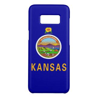 Samsung Galaxy S8 Case with Kansas Flag