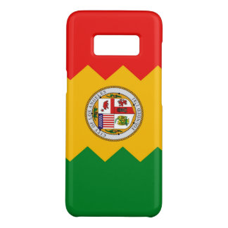 Samsung Galaxy S8 Case with Los Angeles Flag