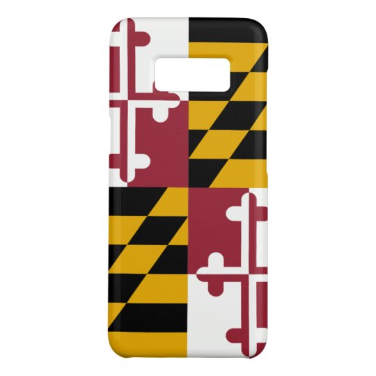 Samsung Galaxy S8 Case with Maryland Flag