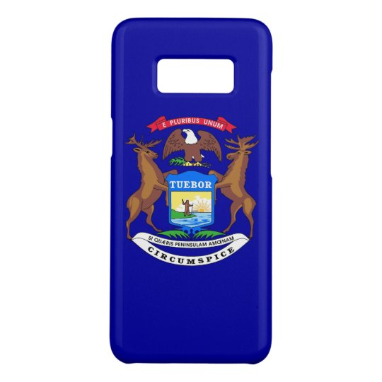 Samsung Galaxy S8 Case with Michigan Flag