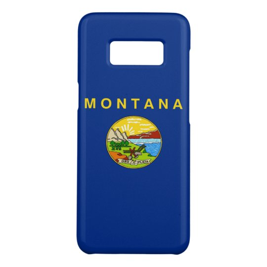 Samsung Galaxy S8 Case with Montana Flag