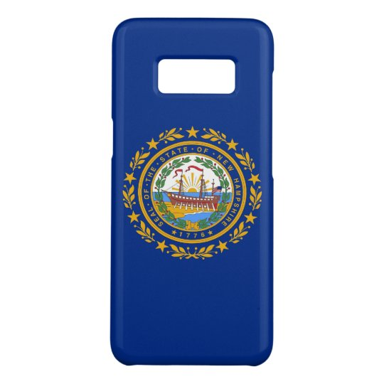 Samsung Galaxy S8 Case with New Hampshire Flag