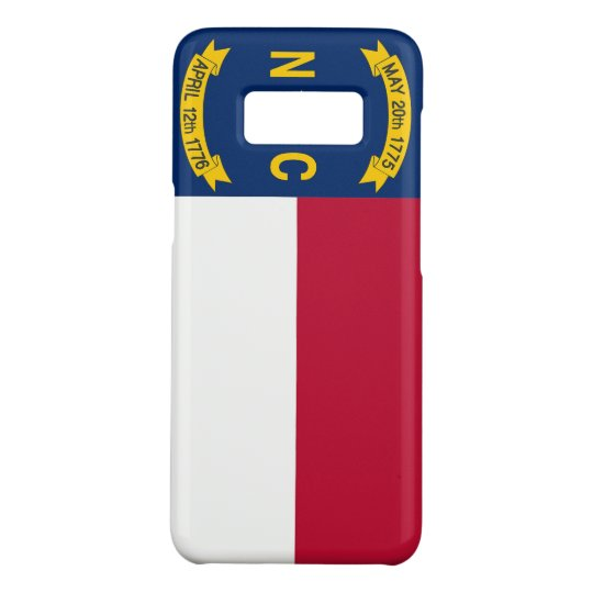 Samsung Galaxy S8 Case with North Carolina Flag