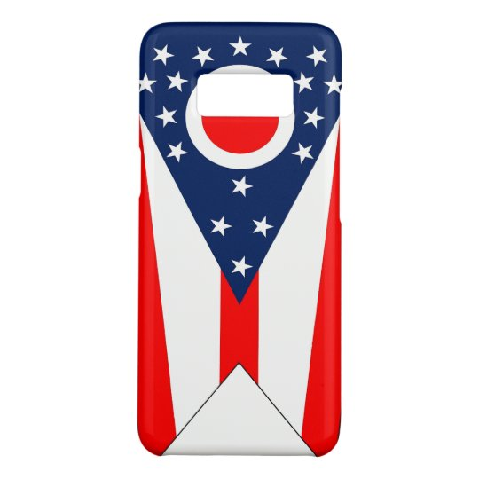 Samsung Galaxy S8 Case with Ohio Flag
