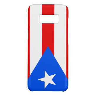 Samsung Galaxy S8 Case with Puerto Rico Flag
