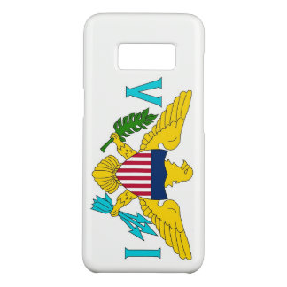 Samsung Galaxy S8 Case with Virgin Islands Flag