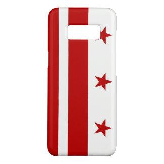 Samsung Galaxy S8 Case with Washington DC Flag