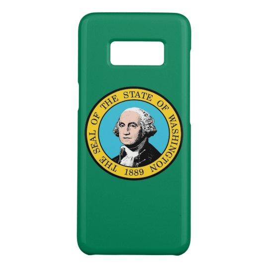 Samsung Galaxy S8 Case with Washington State Flag