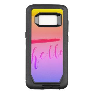 Samsung Galaxy S8 Otterbox Calligraphy Hello Case