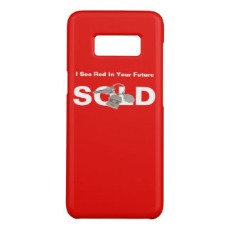 Samsung Galaxy S8 Red Real Estate Agents Sold Sign Case-Mate Samsung Galaxy S8 Case