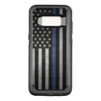 Samsung Galaxy S8 Thin Blue Line Cell Phone Case