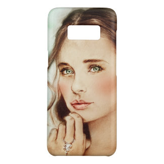 Samsung Galaxy vintage case - Lady of Spring