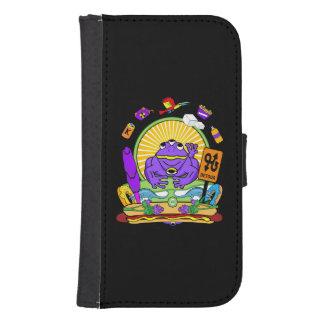 Samsung Galaxy Wallet Case - Munchi Power! 3FROG