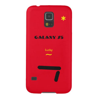 Samsung S5 lucky 7 Red Case
