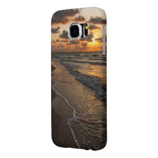 Samsung S6 case - Beach Sunrise