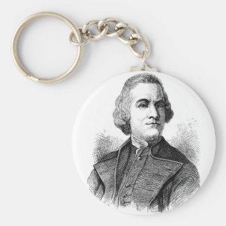 samuel-adams basic round button keychain