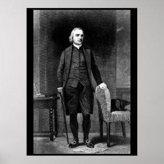 Samuel Adams.  Copy of engraving after_War Image Poster