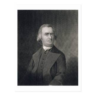 Samuel Adams, engraved by G.F. Storm (fl.c.1834) a Postcard