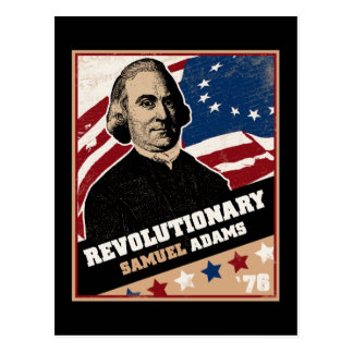 Samuel Adams Revolutionary Postcard