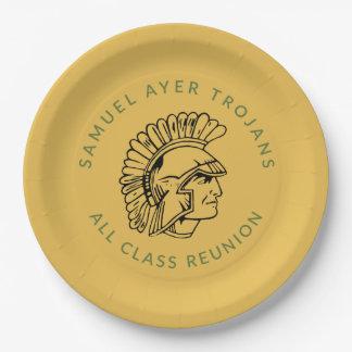 Samuel Ayer High School Class Reunion Paper Plate2 Paper Plate