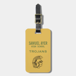 Samuel Ayer HS Reunion Yearbook Photo Badge Luggage Tag