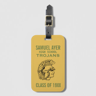 Samuel Ayer Reunion Class of Business Card Luggage Tag