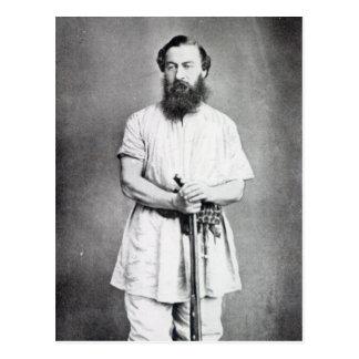 Samuel Baker, 1865 Postcard