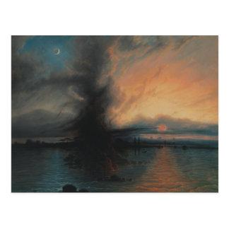 Samuel Colman - The Rock of Salvation Postcard