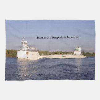 Samuel D. Champlain & Innovation kitchen towel