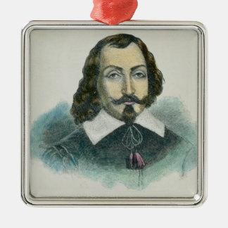 Samuel de Champlain Metal Ornament