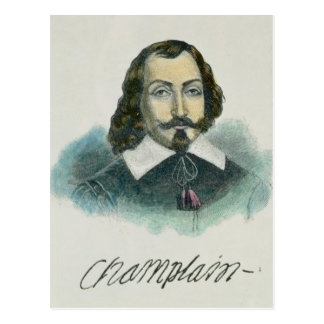 Samuel de Champlain Postcard