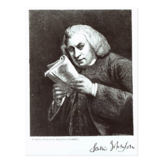 Samuel Johnson Postcard