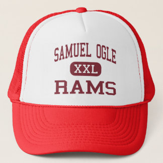Samuel Ogle - Rams - Middle - Bowie Maryland Trucker Hat