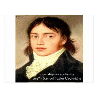 "Samuel T Cooldridge ""Sheltering Tree"" Wisdom Quote Postcard"