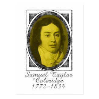 Samuel Taylor Coleridge Postcard