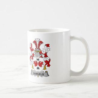 Samuels Family Crest Coffee Mug