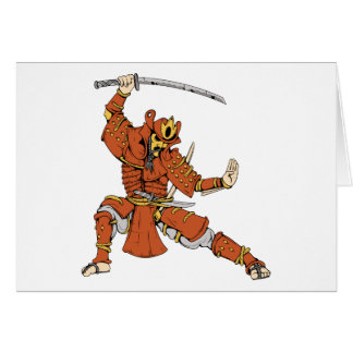 Samurai 4 ~ Ninjas Martial Arts Warrior Fantasy Card