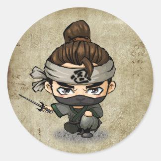 Samurai and Ninja Stickers -  Aoshi