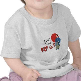 Samurai Art of War T Shirts