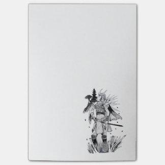 Samurai Chick Post-it® Notes