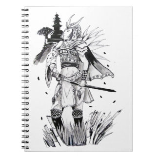 Samurai Chick Spiral Note Books
