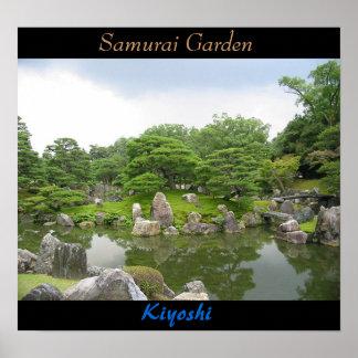 Samurai Garden Poster