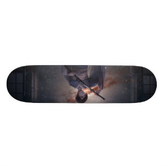 Samurai Girl Custom Skate Board